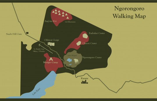 Ngorongoro Walking Map-01