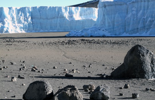 shrinking glaciers in the crater_1