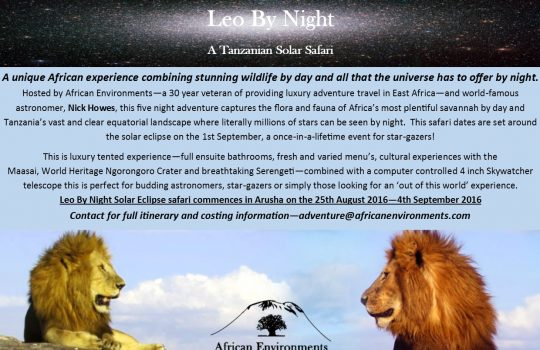 Leo By Night Eclipse 2016